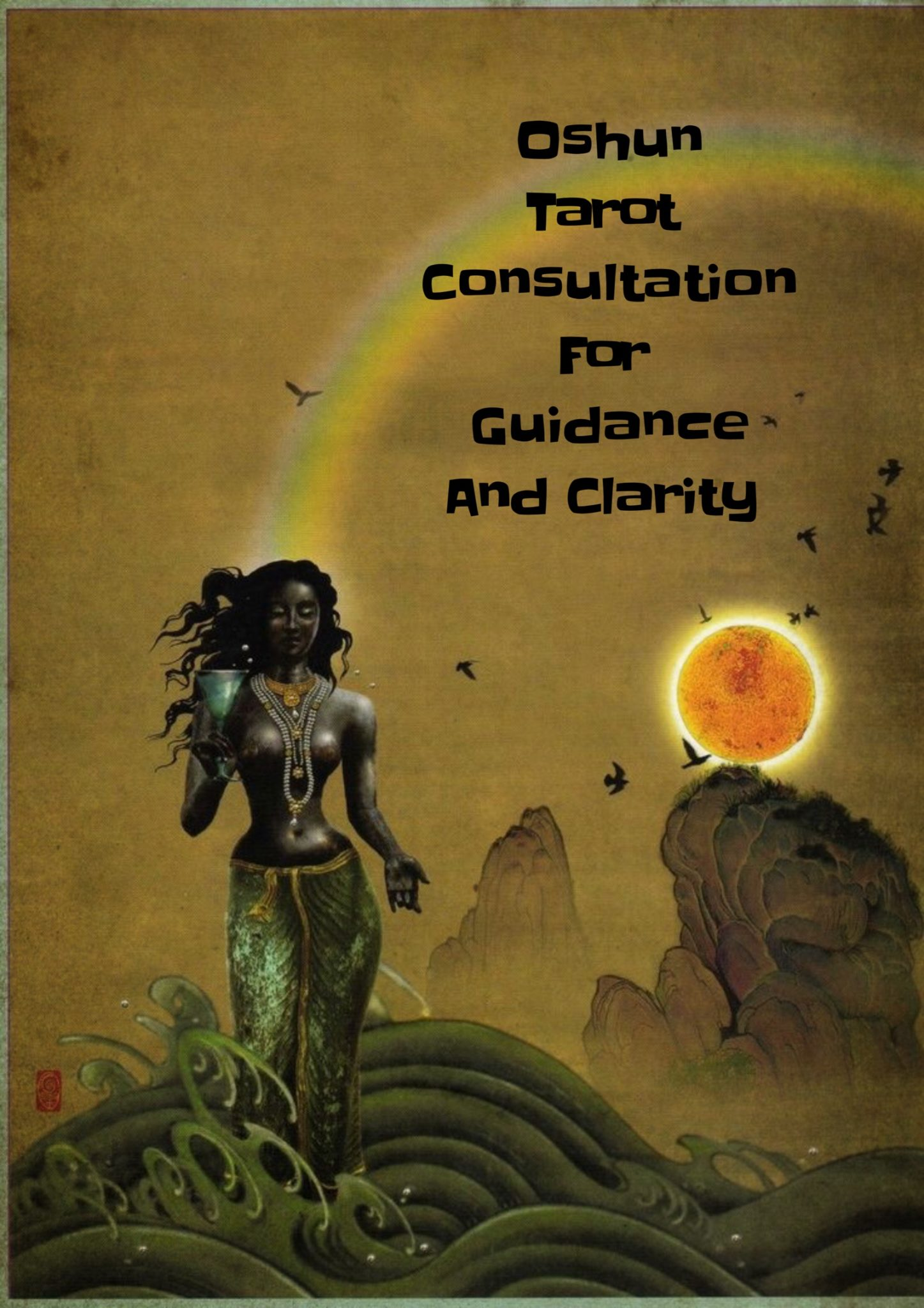 208539fec0ef7 Oshun Tarot Consultation for Guidance and Clarity - Light Witch Tarot