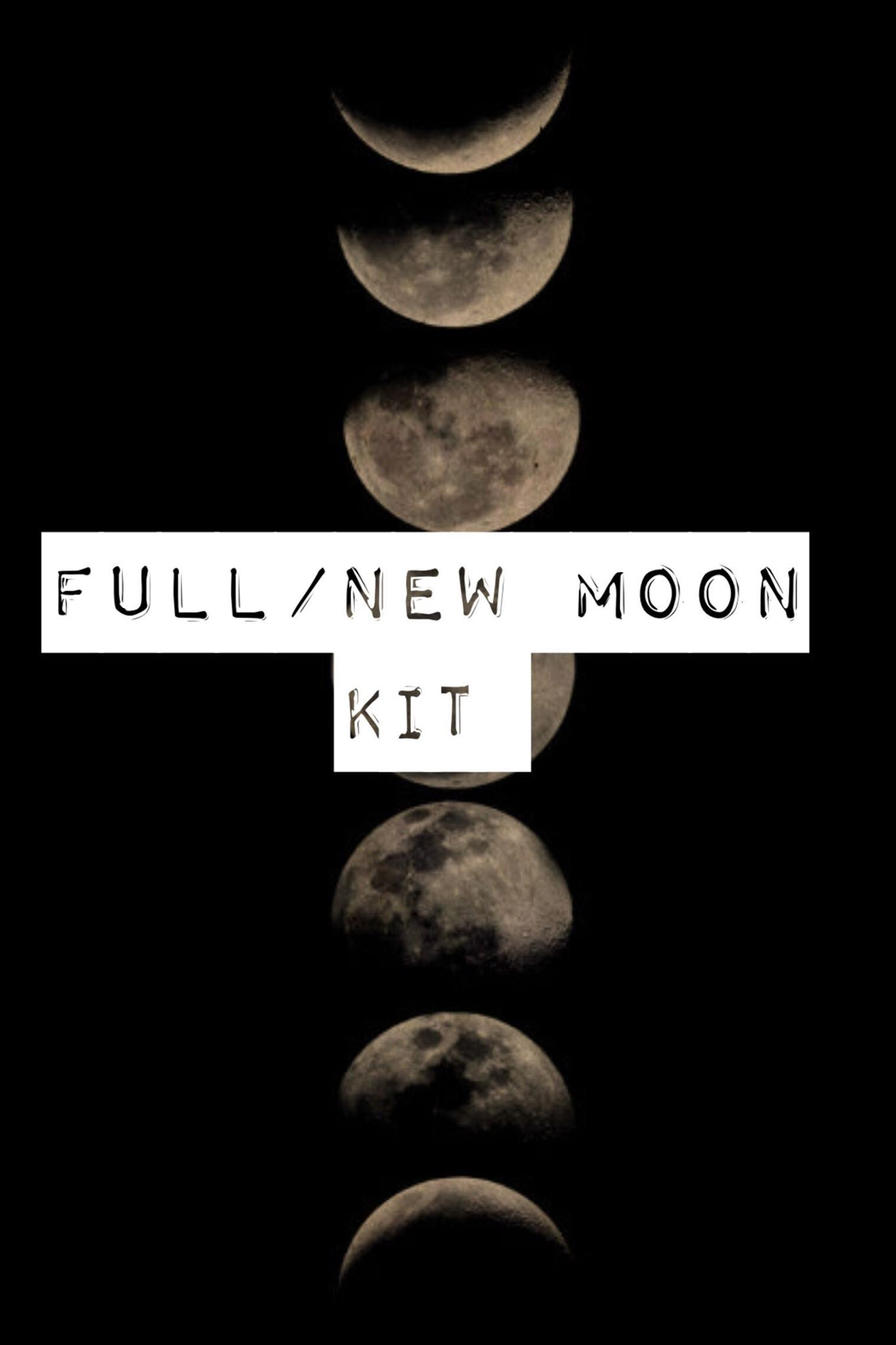 Full Moon | New Moon Deluxe Monthly Kit | Light Witch Tarot Online Shop