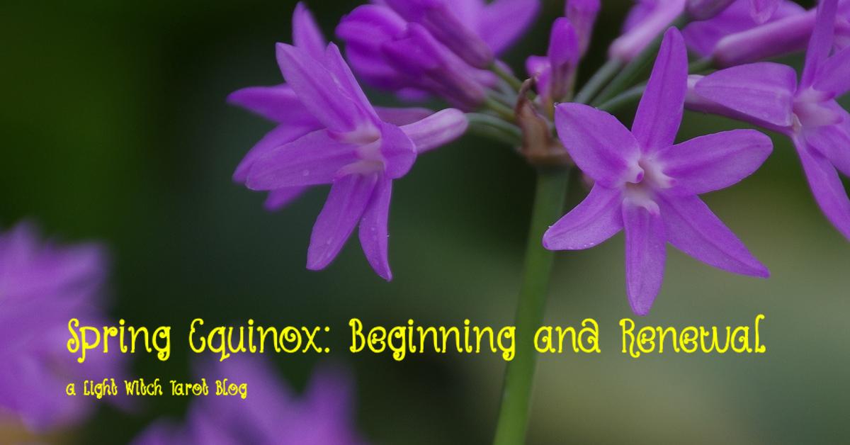 spring equinox blog